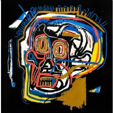 Jean Michel Basquiat - Head Tablosu
